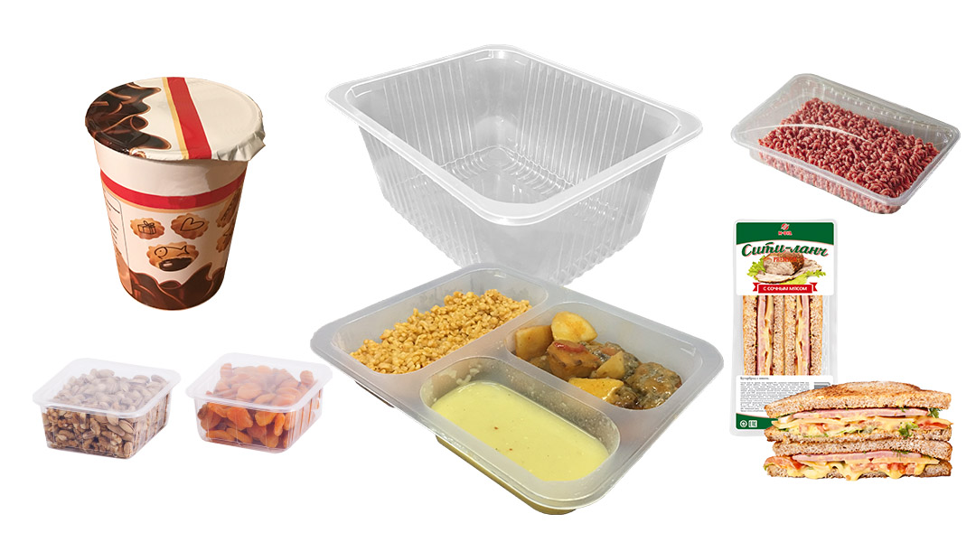 Food Trays for Sealing