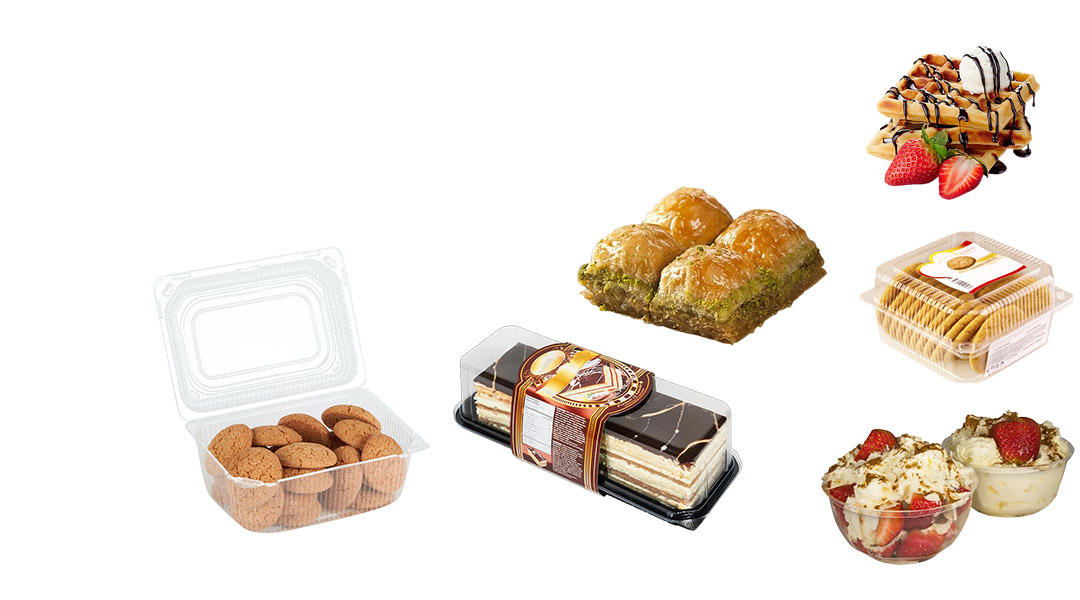 Packaging for Desserts and Pastry