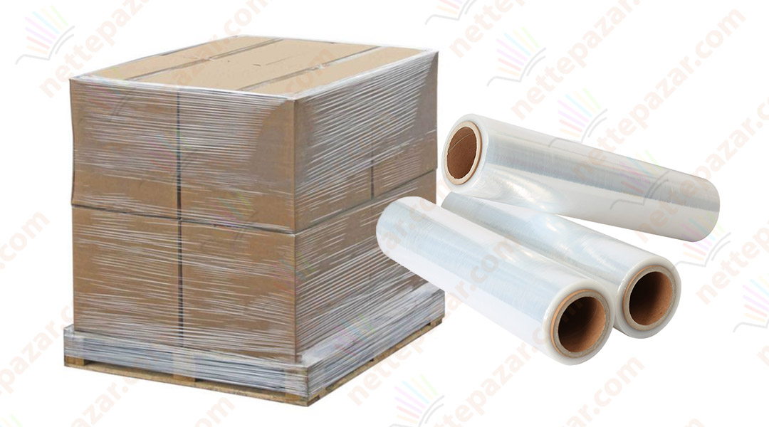 Stretch Film for Pallet 17 Micron 50 cm x 300 mt (6 pieces)