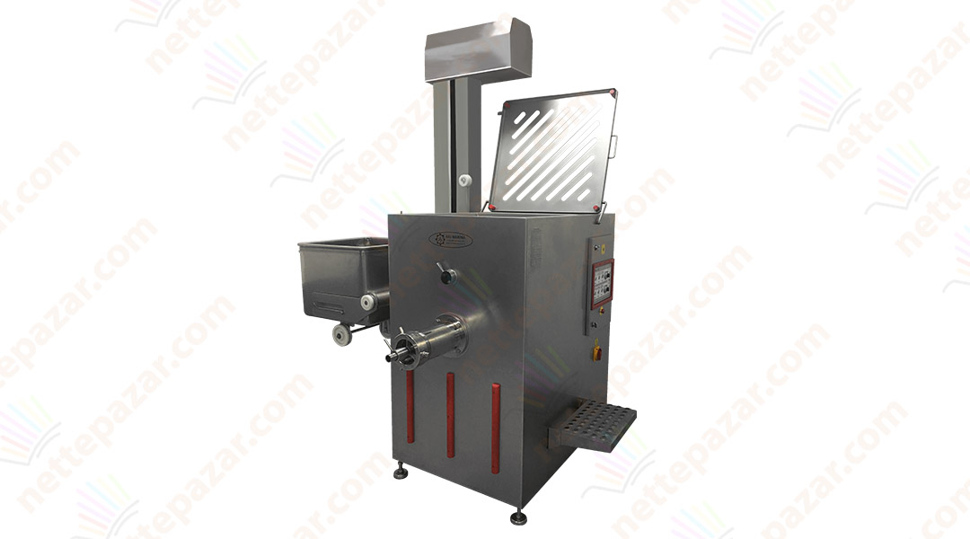 Industrial Meat Grinder Stand Type with Mixer KPKM 42 Ø 130