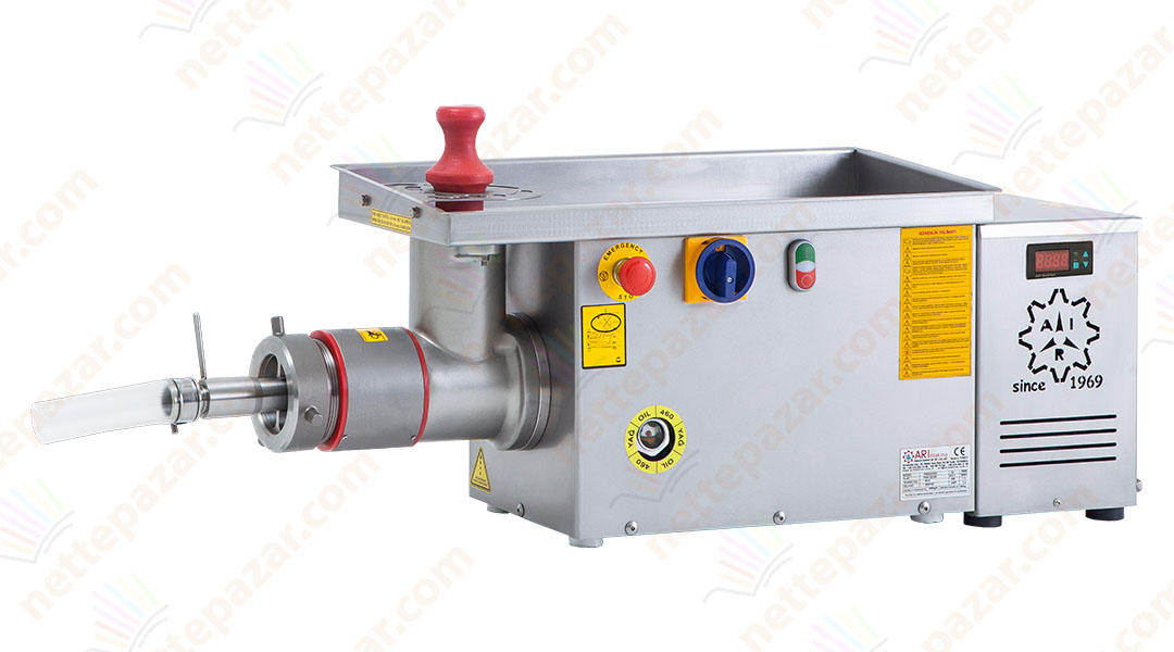 Industrial Meat Grinder With Cooler and Sinew Separator PKM 32S SA Ø 98