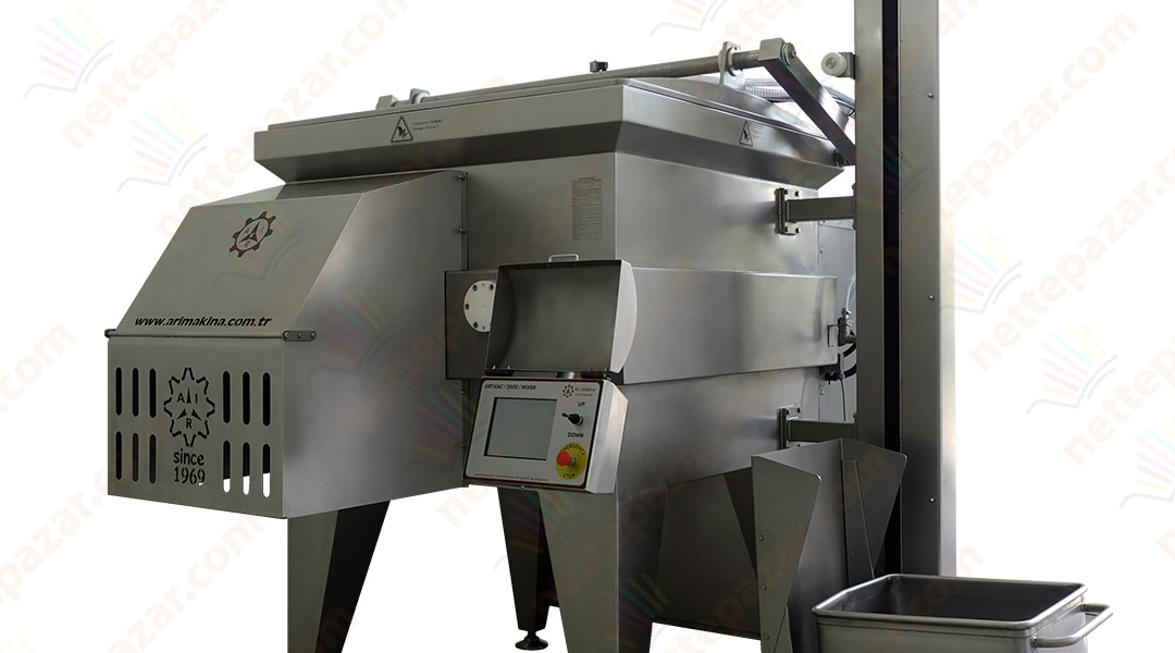 Meat Mixing Machine KRT-1000 Front Discharge