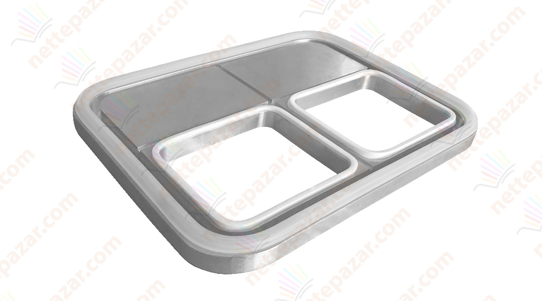 Dual Mold for Clio 35 Tray Sealer 110x110
