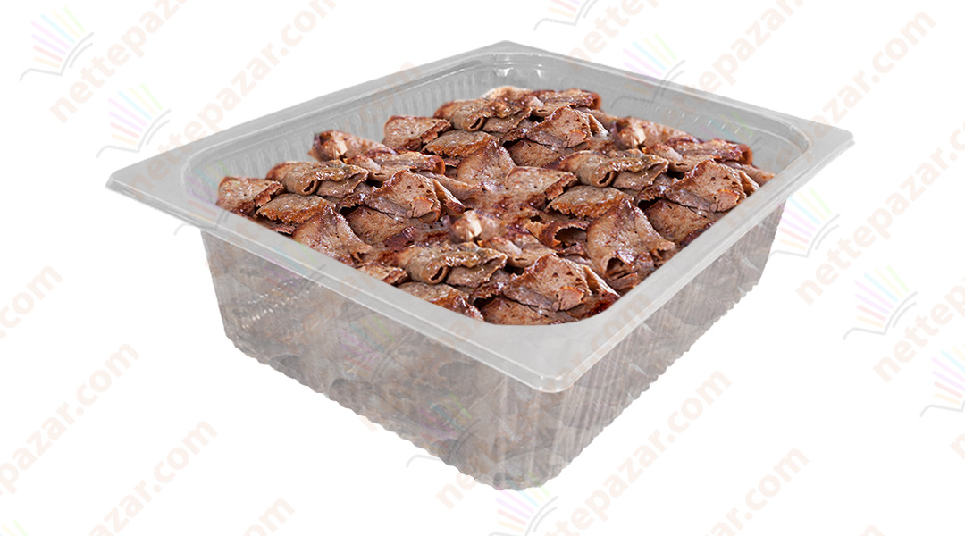 Transparent Food Tray 325x265x100 mm.