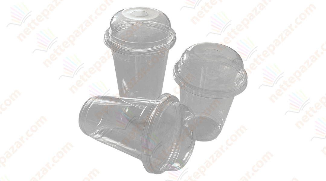 Disposable plastic cup 350ml РЕТ