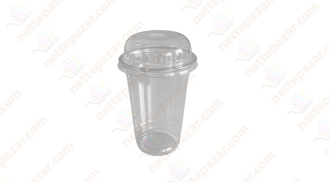 Disposable plastic cup 400ml РЕТ
