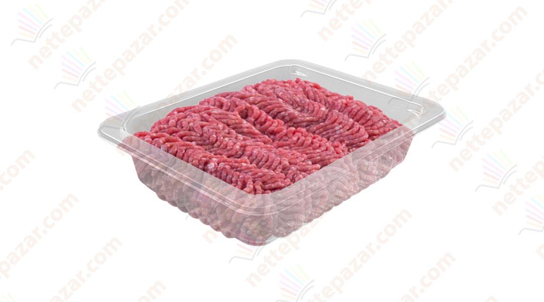 Transparent Food Tray 190x144x50 mm