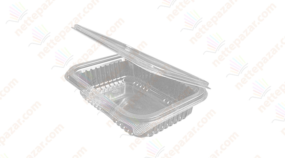 Disposable container with cover 250ml РЕТ