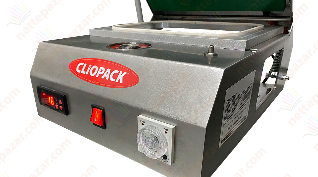 Tray Sealer for Cardboard Plate Clio Magnetics