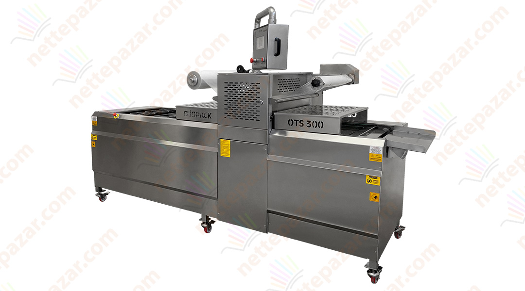 Automatic Tray Sealer With Gas and Vacumm OTS-300