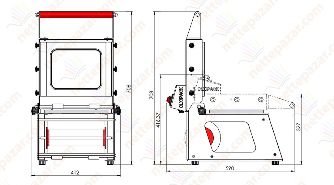 Clio 35 S Manual Tray Sealer