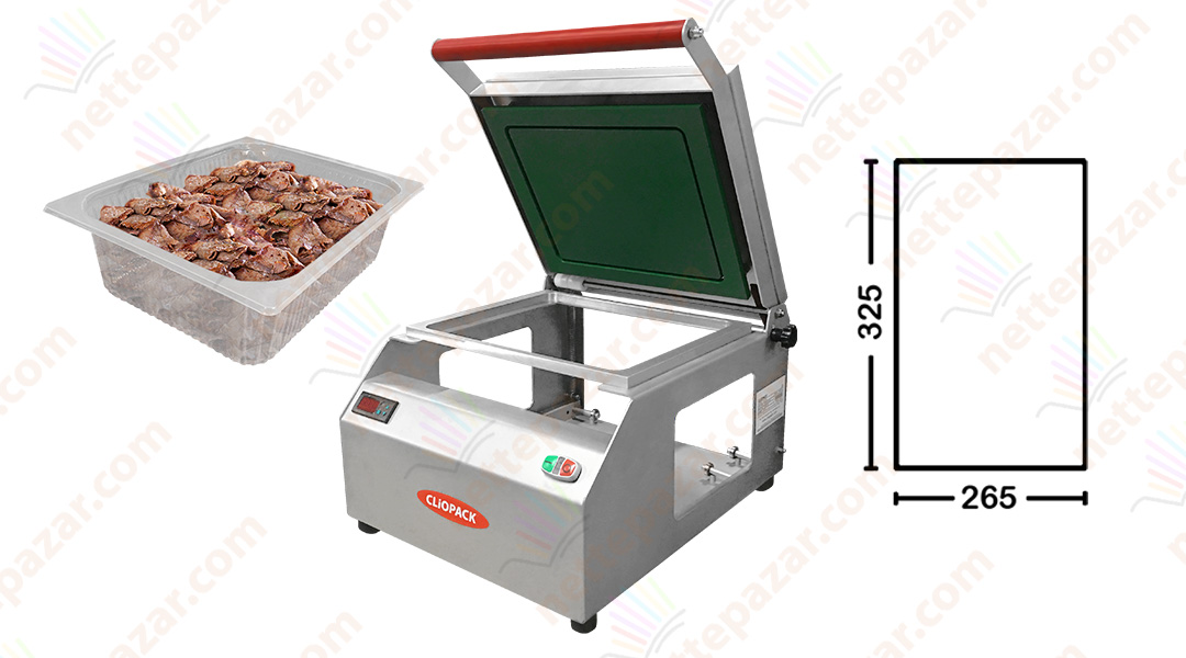 Clio 59 Manual Tray Sealer