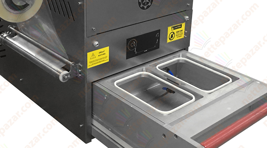 Semi Automatic Tray Sealer With Gas and Vacumm TS-100